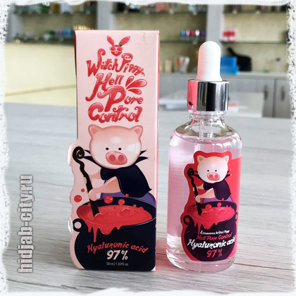 Witch Piggy Hell Pore Control Elizavecca Hyaluronic Acid 97