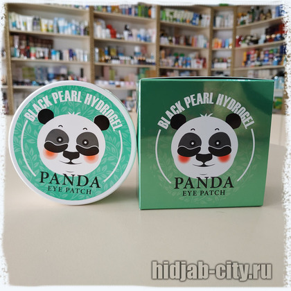 Патчи Black Pearl Hydrogel Panda Eye Patch