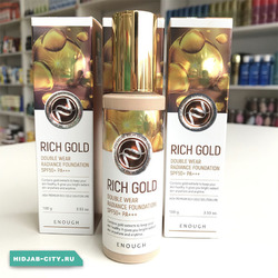 Enough Rich Gold Double Wear Radiance Foundation (Тональный Крем)