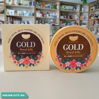 Патчи Koelf Gold & Royal Jelly Eye Patch