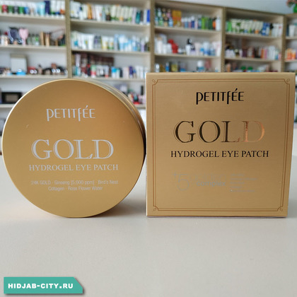 Патчи Petitfee Gold Hydrogel Eye Patch