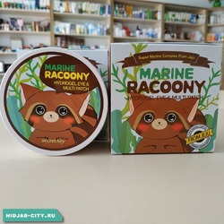 Патчи Marine Racoony Hydrogel Eye & Multi Patch