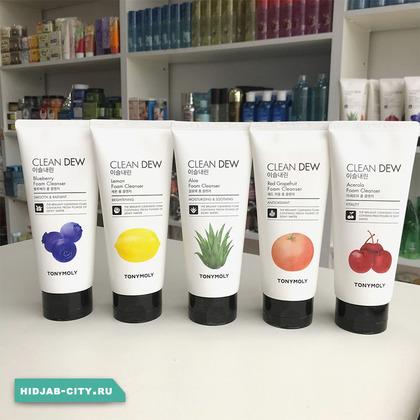 Tony Moly Clean Dew Foam Cleanser (Пенка для Умывания)