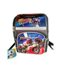 Школьный рюкзак c мотоциклом для мальчиков. Легкий и удобный. Купить на Hidjab City.
