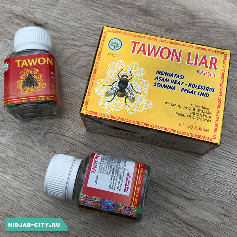 Tawon Liar Gold - Пчелка капсулы